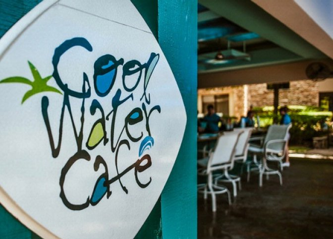 Cool Water Cafe sign