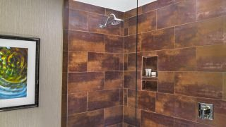 The Executive Suite Bathroom shower